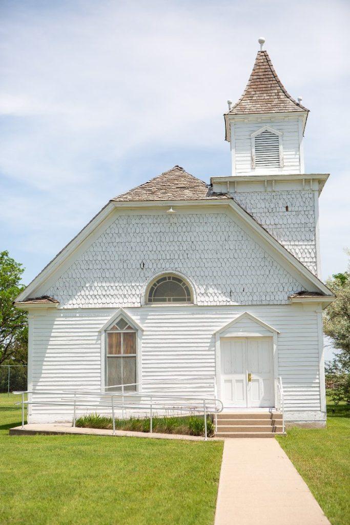 Building where congregation meet.
