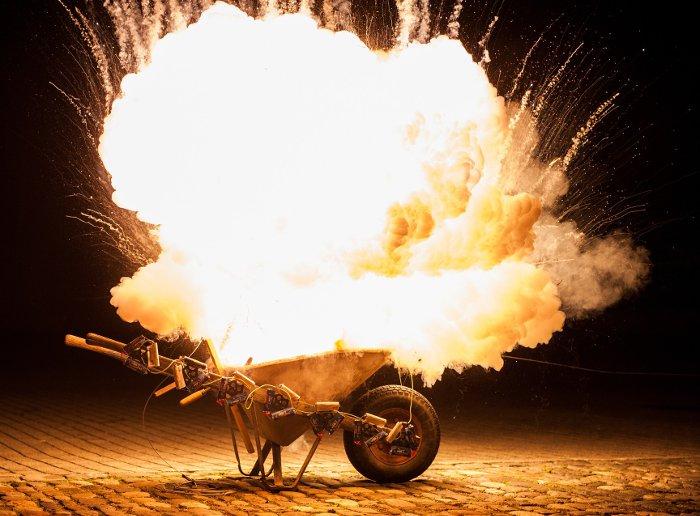 Gun Powder Explosion